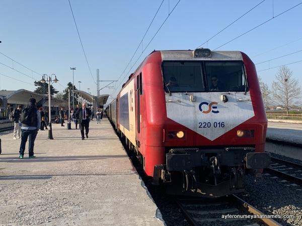 Yunanistan tren yolculuğu