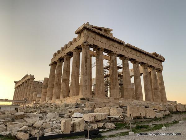 Parthenon Tapınağı - Akropolis