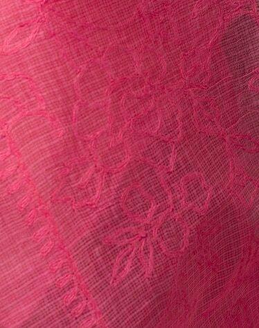 Cotton Silk Chikankari Dupatta #25621