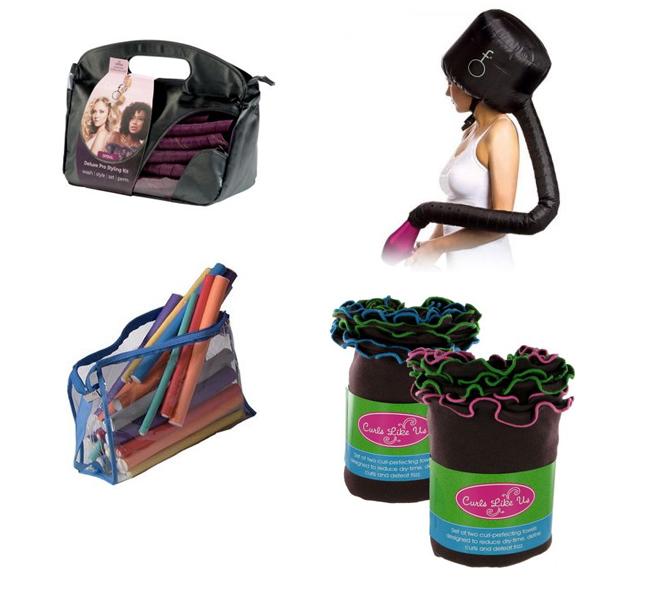 cheveux bouclés - objets manuels