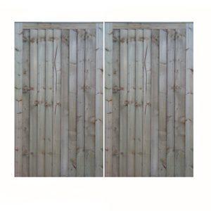 Pair of Closeboard Gates