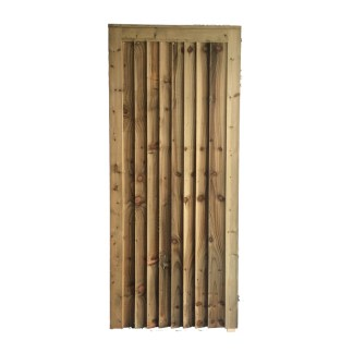 Closeboard Gate is a gate designed as a garden or side gate for entrance to a property