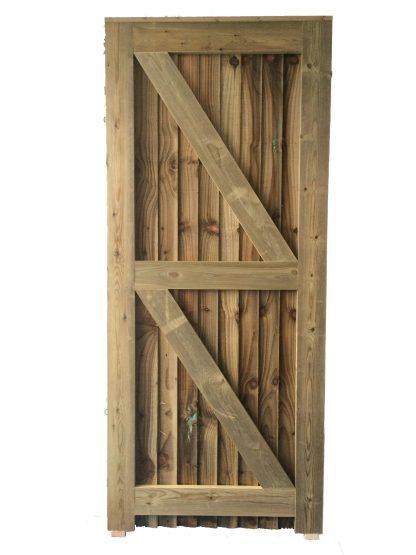Closeboard Gate Back Left Hand