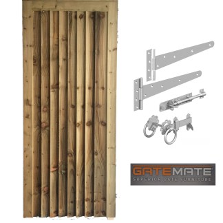 Closeboard Gate with fittings