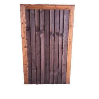 Closeboard Gate Brown 1.8m