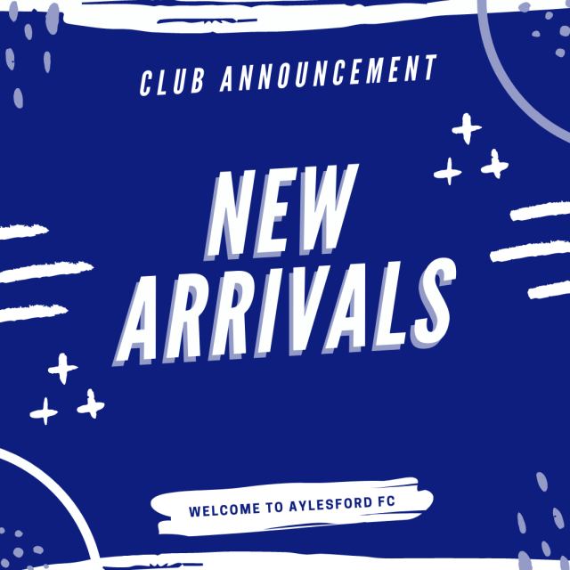 CLUB ANNOUNCEMENT – NEW ARRIVALS