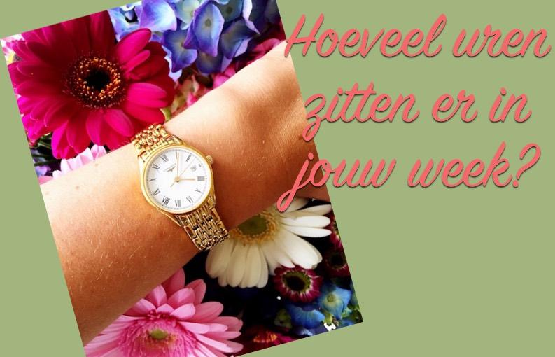 Horloge tijd besparen aantal uur in week