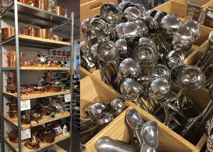 Weekoverzicht #9 Dok kookwinkel ijsschep koperen pannen