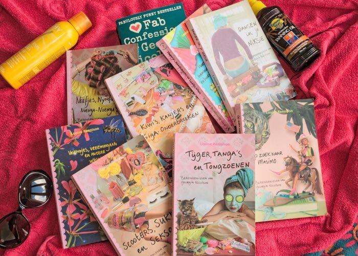 Bekentenissen van Georgia Nicholson zomerboeken