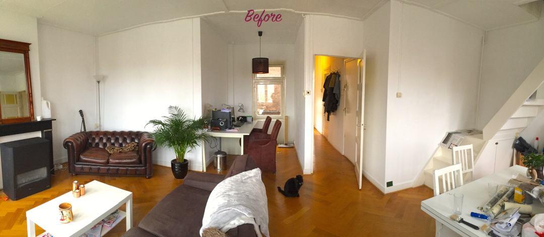 Before woonkamer samenwonen