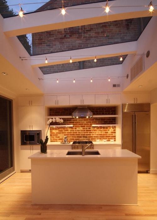 Droomkeuken met skylight