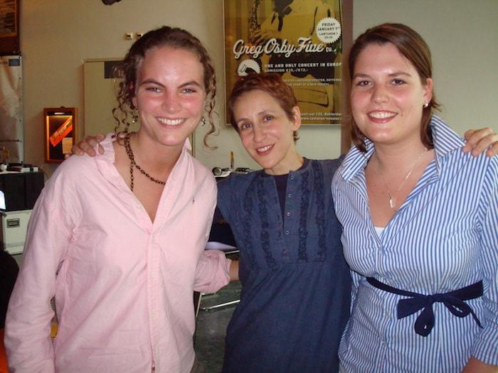 Daphne en Ayla met Stacey Kent