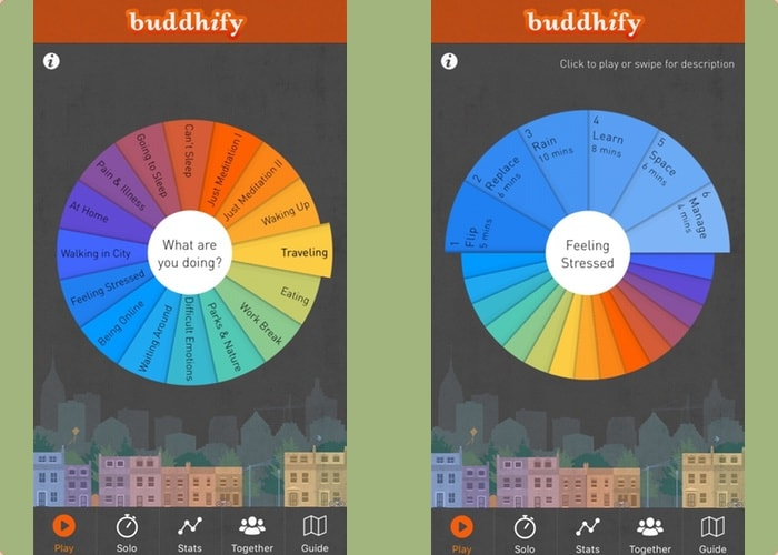 Iphone apps rust - Buddhify