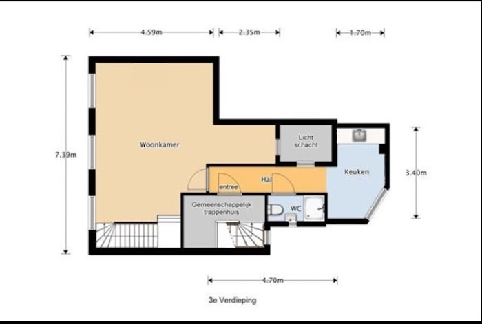 Huis kopen zonder makelaar - plattegrond