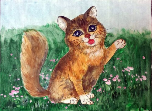 AYLUS_Art_Sarah_Leung_Cat_in_the_Meadows