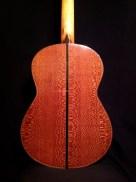 Fondo/Guitarra flamenca Brazilian Lacewood