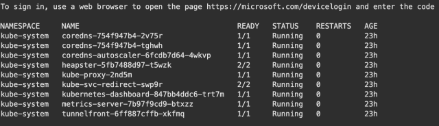 Secure Azure AKS Kubernetes cluster rbac authentication