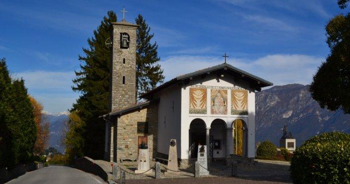 Madonna Del Ghisallo kilisesi