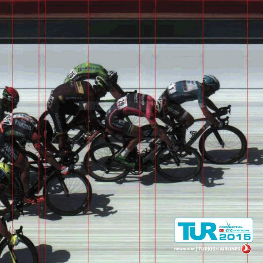 TUR2015 2. etap Alanya - Antalya foto bitişi