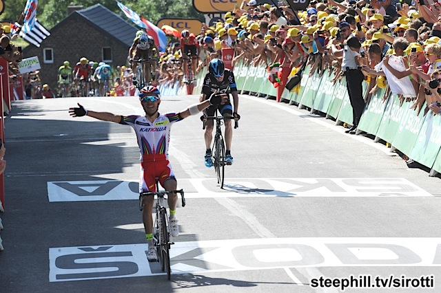 2015, Tour de France, tappa 03 Anvers - Huy, Katusha 2015, Team Sky 2015, Rodriguez Oliver Joaquin, Froome Christopher, Huy