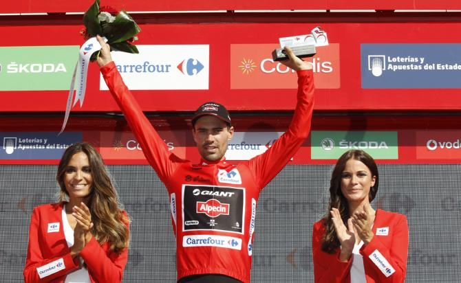 Vuelta2015_stage5_golden_jersey_Tom_Dumoulin