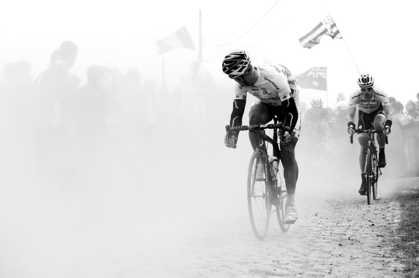 Svein Tuft looks back into the nothing.