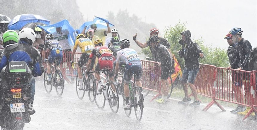 10-07-2016 Tour De France; Tappa 09 Vielha - Andorra Arcalis; 2016, Bmc Racing; 2016, Orica - Bikeexchange; Porte, Richie; Yates, Adam;