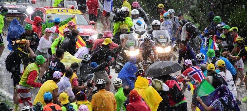 Tour de France 2016 - 10/07/2016 - Etape 9 - Vielha Val d'Aran/ Andorre Arcalis (184;5 km) - DUMOULIN Tom (TEAM GIANT-ALPECIN) sous les grelons