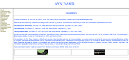 Ayn Rand Old Site - 08 - Newsletters