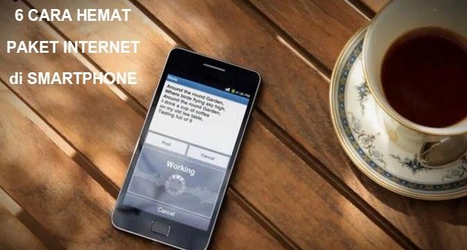 Hemat Paket Internet di Smartphone