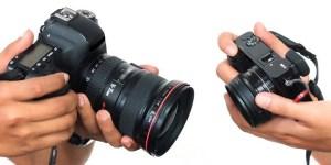 DSLR Versus Kamera Mirrorless