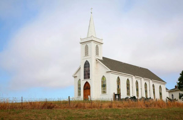 Kerangka Manusia Tersimpan di Gereja Megah Ini