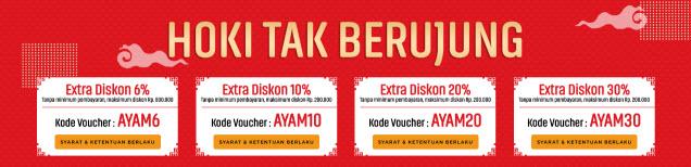 Rayakan Imlek Dengan Diskon Seru di Blanja.com