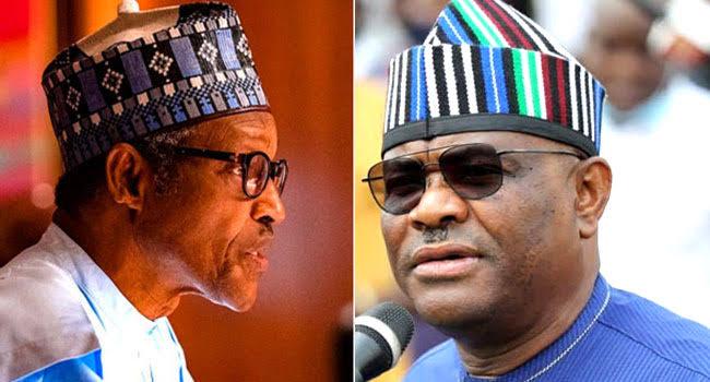 Gov. Wike and President Buhari