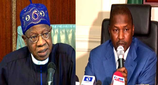 Lai Mohammed Backs AGF Malami On 'State of Emergency' Rule In Anambra