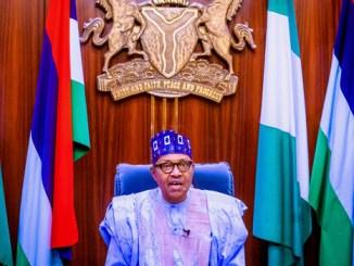 Nigeria President, Muhammadu Buhari