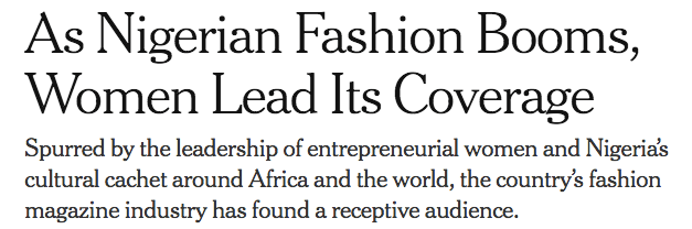 b5370a02 From The New York Times: Women Publishers Taking Over the Nigerian ...