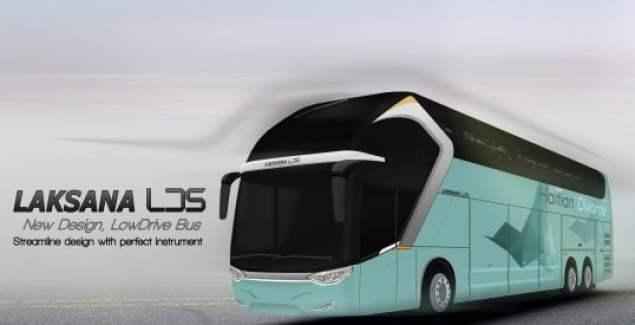 Desain Bus Laksana
