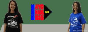 Merchandise Kaos Bus - Ayo Naik Bis