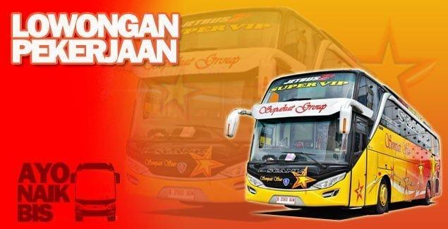 Lowongan driver bus