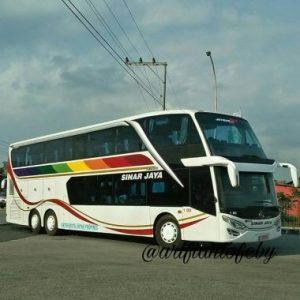 bus terbaru Sinar Jaya