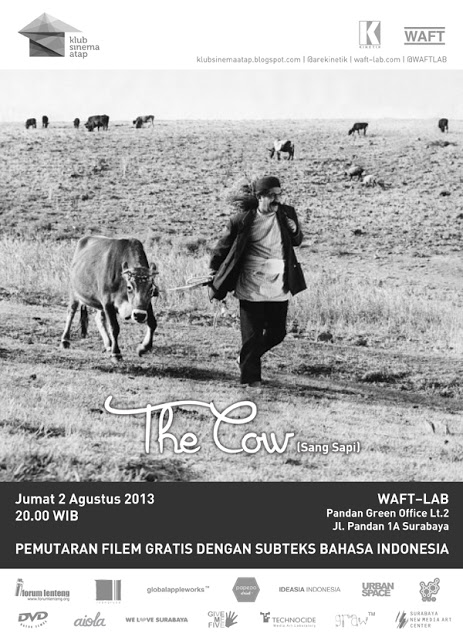 Ayorek Events - Klab Sinema Atap The Cow