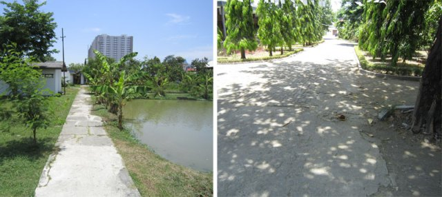 Kawasan SMPLB AYPAB sebelumnya merupakan SMA Pertanian, sehingga tidak dirancang khusus agar aksesibel bagi siswa.