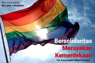 Solidaritas Merayakan Kemerdekaan LGBT