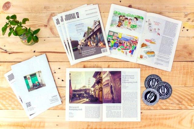 Ayorek Journal #001, featuring Kampung Arab