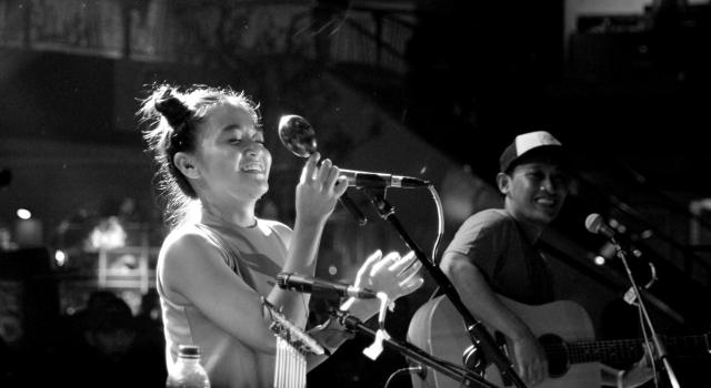Star and Rabbit: Elda Suryani dan Adi Widodo. Foto: Debby Utomo