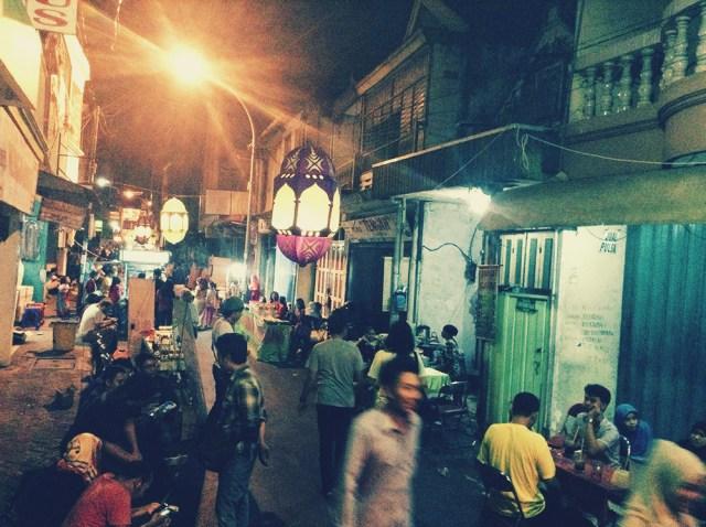 Pasar Kampung Ampel. Foto: Emirul Fahmi