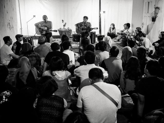 Silampukau membuka acara. Foto: Erlin Goentoro