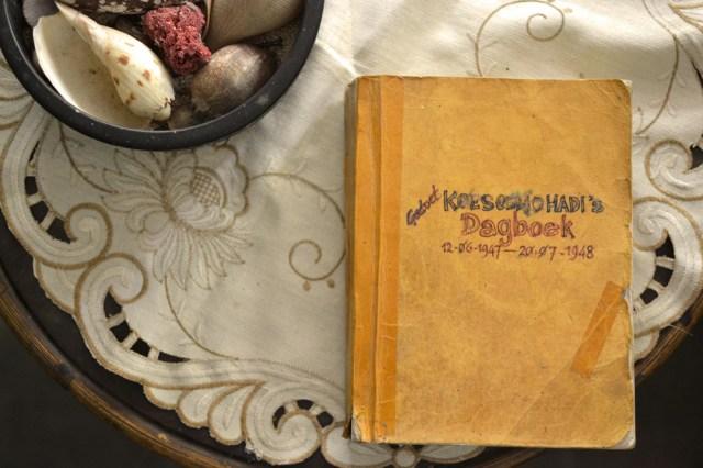 Buku harian Pak Gatut saat berjuang yang sempat jatuh ke tangan tentara Belanda
