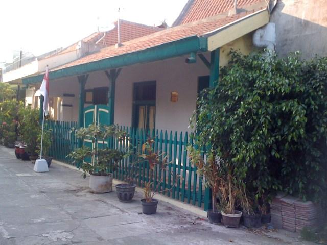 Rumah HOS Tjokroaminoto di Jl Peneleh VII/29-31